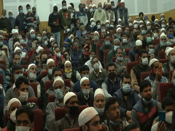 Visual of Sufi conference in Srinagar