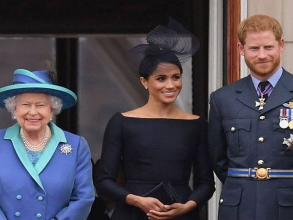 Queen Elizabeth, Meghan Markle and Prince Harry (Image source: Instagram)