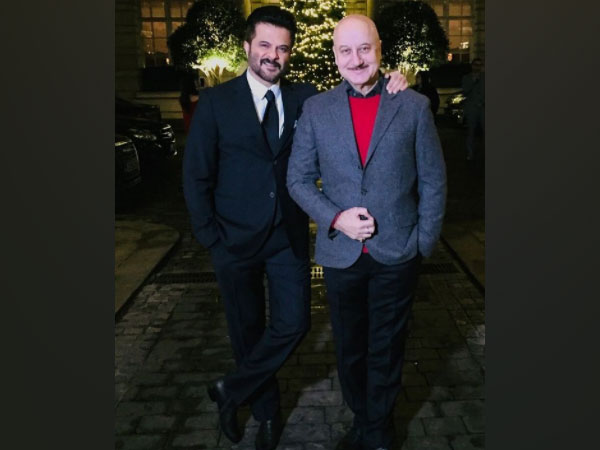 Actors Anil Kapoor and Anupam Kher (Image Source: Instagram)