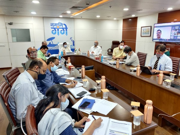 Minister of State for Jal Shakti Bishweswar Tudu chaired a meeting of Empowered Task Force