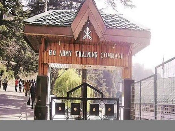 File pic of the Army Training Command in Shimla
