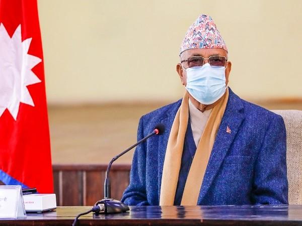 Nepal's caretaker Prime Minister KP Sharma Oli