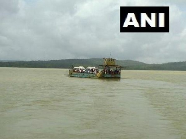 Two ferries with 200 people onboard collided on the Kalasavalli to Ambaragodlu waterway route in Karnataka on Wednesday. Photo/ANI