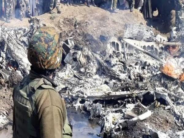Mi17 chopper of the IAF crashed in Budgam (File Photo)