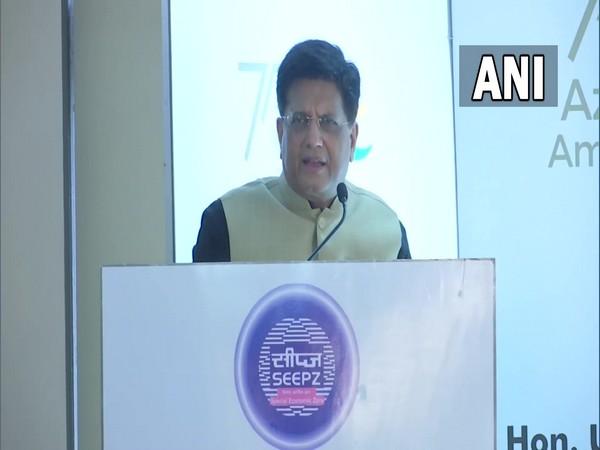 Union Minister Piyush Goyal at the event in Mumbai (Photo/ANI)