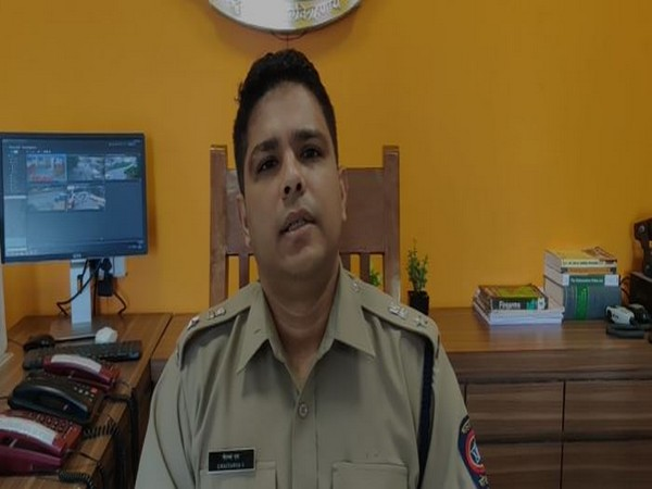 Chaitanya, Deputy Commissioner of Police(PRO), Mumbai Police (Photo/ANI)