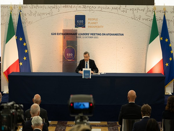 Italian Prime Minister Mario Draghi. Photo Credit: G20 Italy Twitter