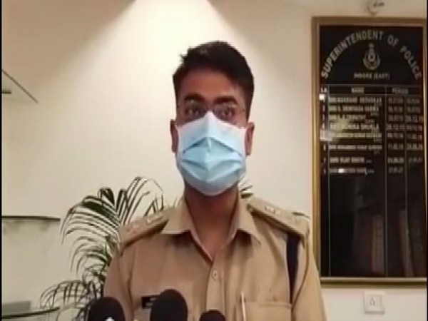 Ashutosh Bagri, Superintendent of Police, Indore (Photo/ANI)