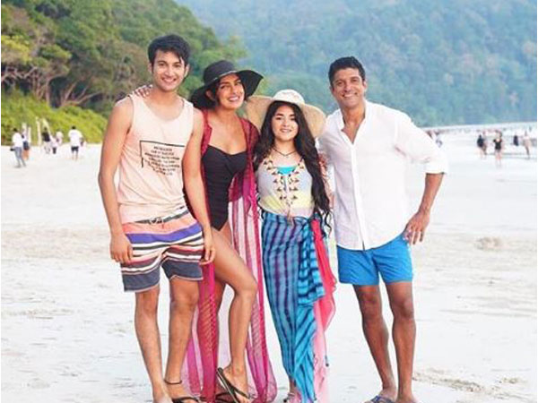 Rohit Saraf, Priyanka Chopra, Zaira Wasim and Farhan Akhtar (Image Courtesy: Instagram)