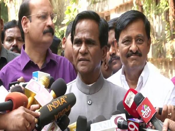 BJP leader Raosaheb Danve spoke to media on Tuesday in Maharashtra's Mumbai. Photo/ANI