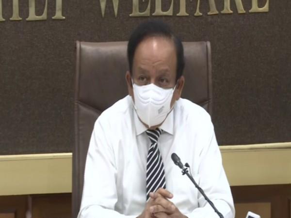 Union Health Minister Dr Harsh Vardhan (file pic/ANI).