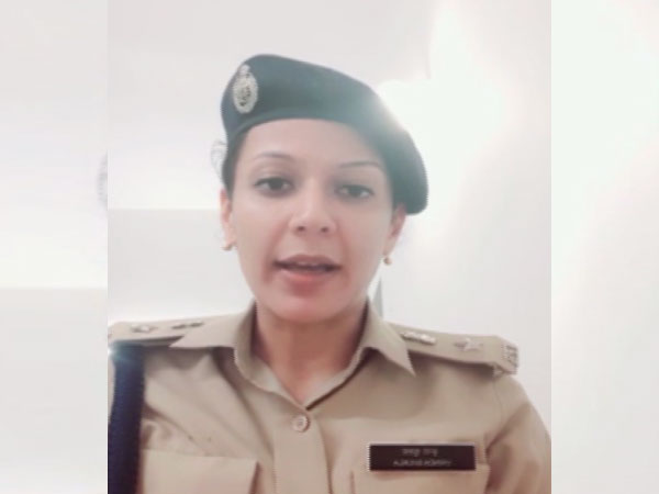 Vrinda Shukla, Deputy Commissioner of Police (Women Safety). Photo/ANI