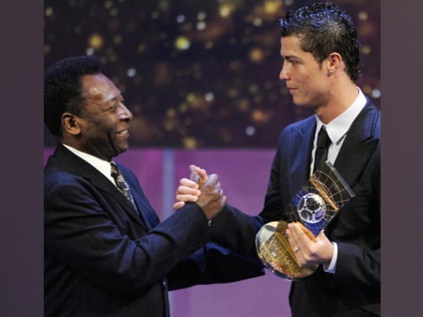 Pele with Cristiano Ronaldo (Photo/ Pele Instagram)