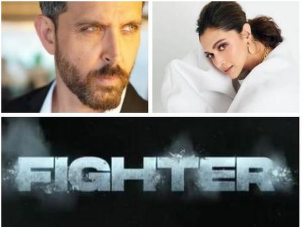 Hrithik Roshan and Deepika Padukone announce action flick 'Fighter'