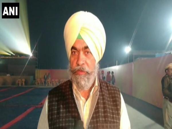 Tajinder Pal Singh, Additional Deputy Commissioner spoke to ANI on Monday in Punjab. Photo/ANI