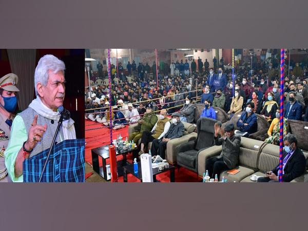 Jammu and Kashmir Lieutenant Governor Manoj Sinha visited the Jammu District Jail on Monday
