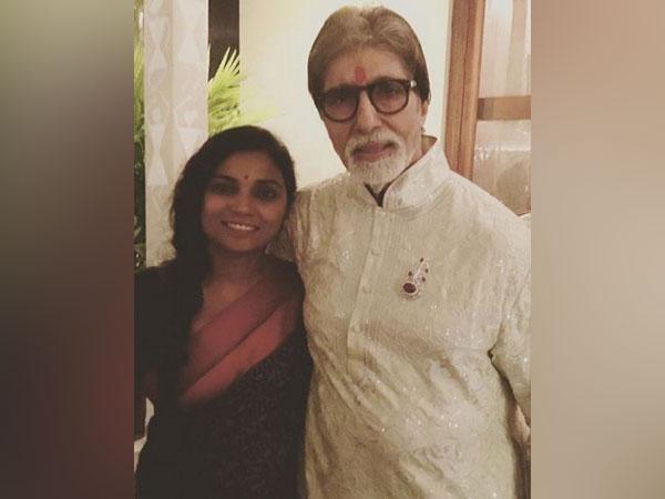 Amitabh Bachchan and Usha Jadhav (Image Courtesy: Instagram)