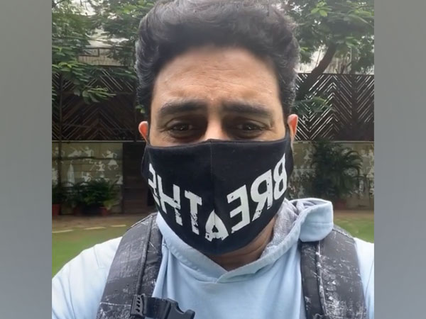 A still from the video shared by actor Abhishek Bachchan (Image source: Instagram)
