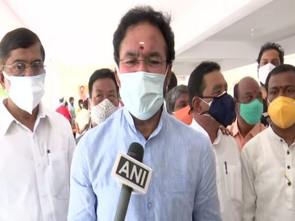The Minister of State for Home Affairs G Kishan Reddy (file pic/ANI).