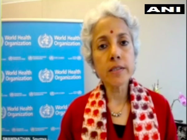 World Health Organisation (WHO) Chief Scientist Soumya Swaminathan speaking to ANI on Monday (local time)