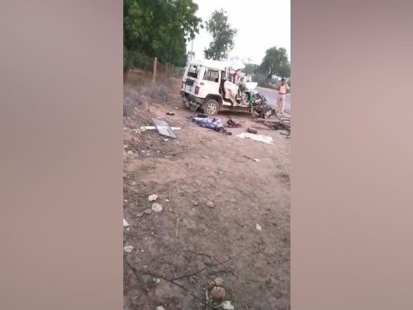 Seven died and more than five sustained injuries in a car-truck collision. Photo/ANI