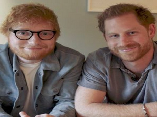 Ed Sheeran and Prince Harry (image courtesy: Instagram)