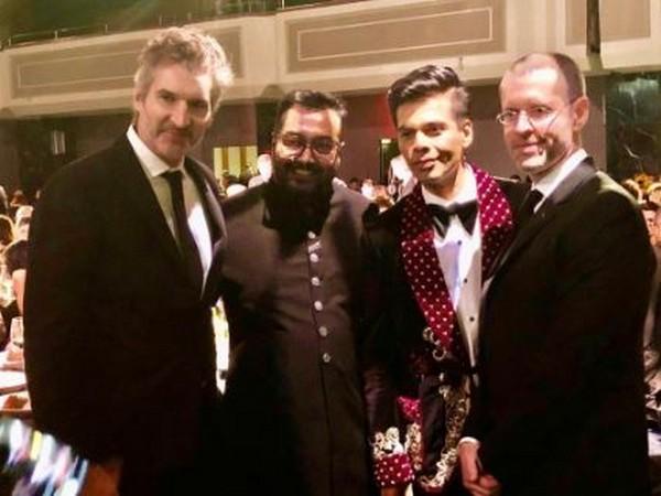 David Benioff, Anurag Kashyap, Karan Johar and DB Weiss (Image Courtesy: Twitter)