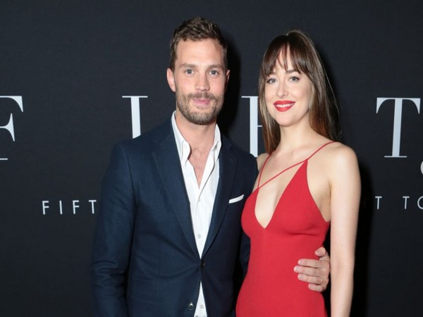 Actors Jamie Dornan and Dakota Johnson who starred in the '50 Shades' movie trilogy (Image source: Instagram)