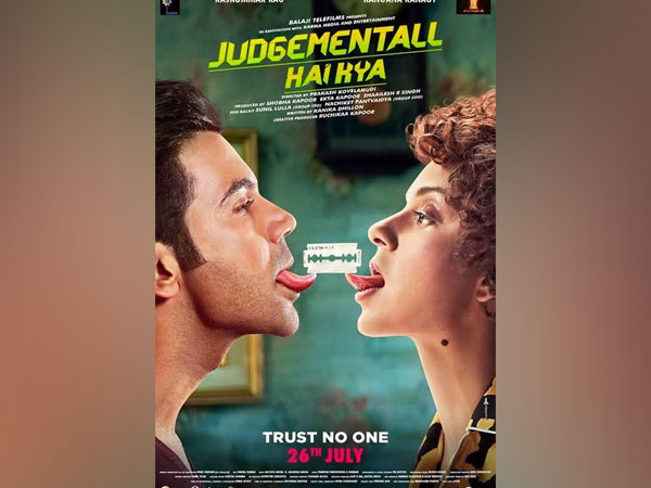 Poster of 'Judgementall Hai Kya', Image courtesy: Twitter