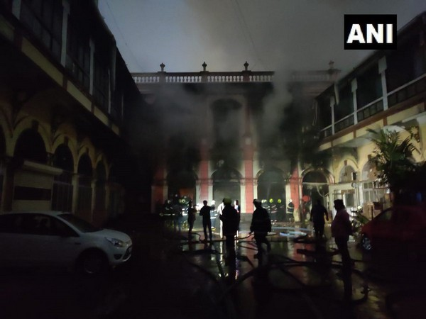 Visuals of the fire from Mumbai.