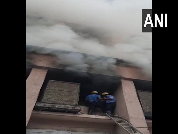 Visual of fire in Nagpur (Photo/ANI)