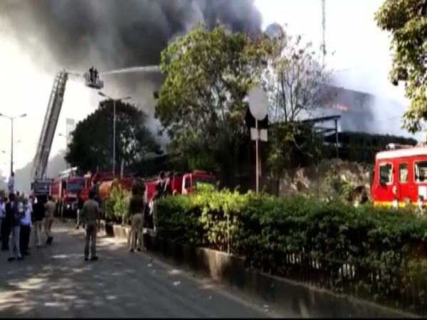 Fire engines at the spot  (Photo/ ANI)