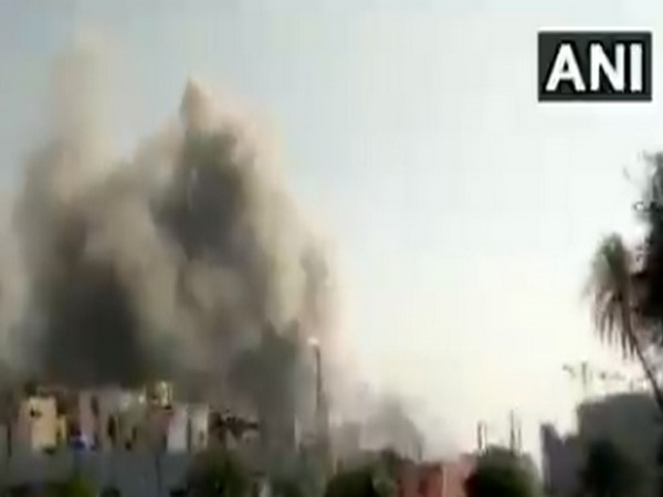 As many as five people died in the fire that broke out at the SII's Manjari plant on Thursday afternoon. (Photo/ANI)