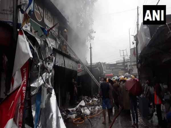 Visuals from fire site in Siliguri.