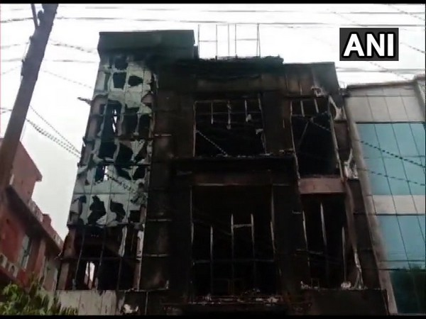 Visuals from the fire spot (Photo/ANI)