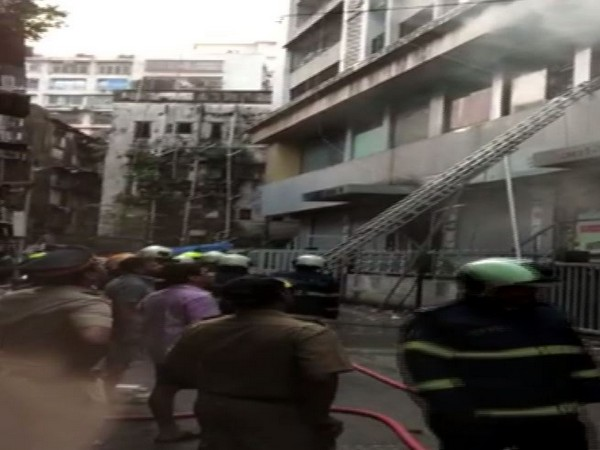 Fire broke out at residential building at Charni Road, Mumbai on Sunday