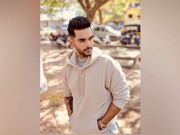 Angad Bedi's first look from 'The Zoya Factor'