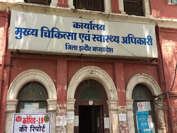 Office of Chief Medical and Health Officer in Indore (Photo/ANI).