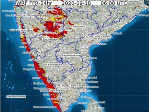 Flash flood guidance issued by IMD for Coastal Karnataka, Goa [Photo/Twitter]