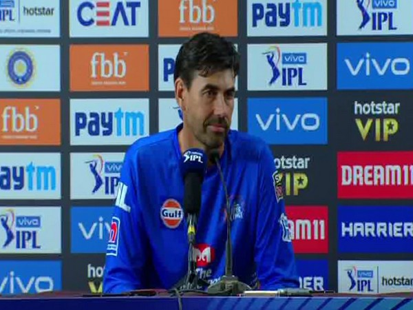CSK head coach Stephen Fleming (ANI Picture)