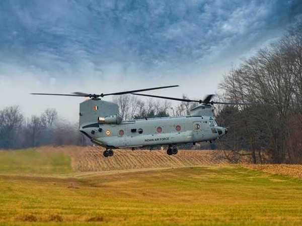 8 CH-47F (I) Chinooks will be ferried to Chandigarh, where they will be formally inducted in the IAF. [Photo/ANI]