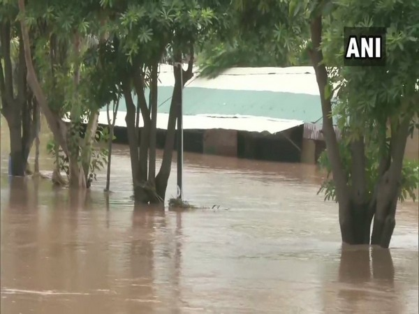Visuals of flood-like situation in parts of Phillaur on Monday. Photo/ANI