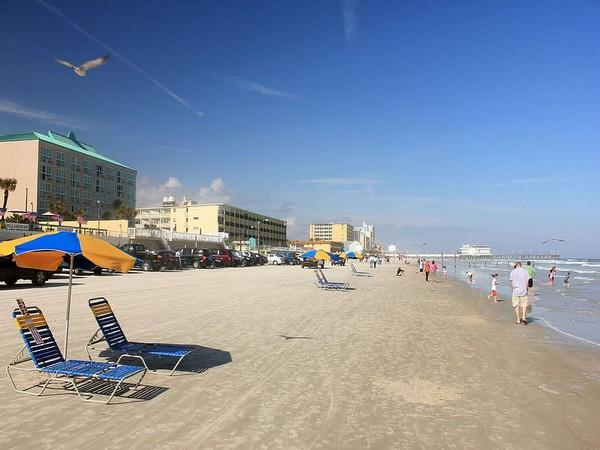Daytona beach in Florida, USA (Representative Image)