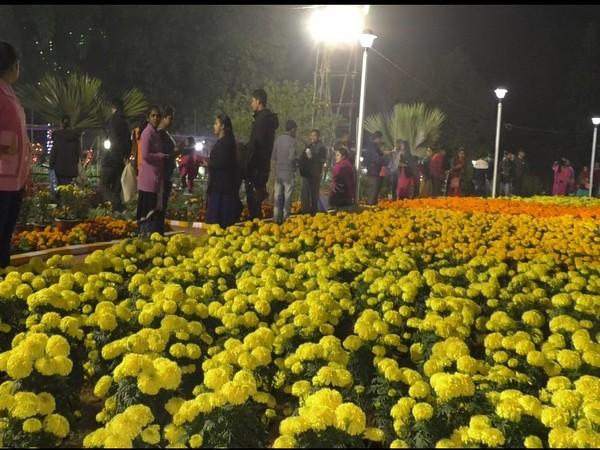 Flower fest held in Agartala Photo/ANI