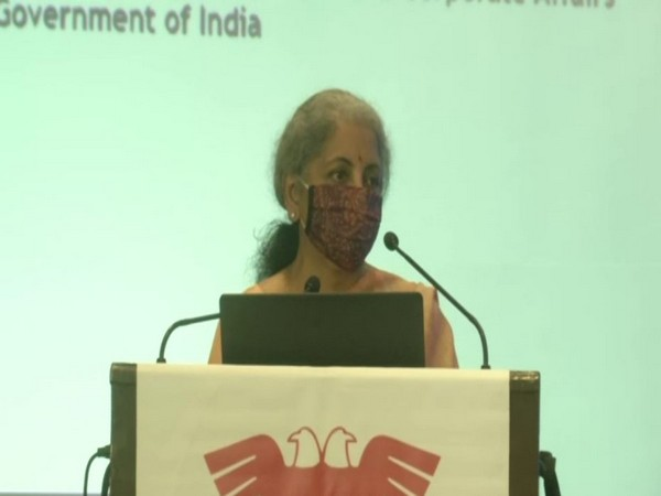 Union Finance Minister Nirmala Sitharaman. (Photo/ANI)