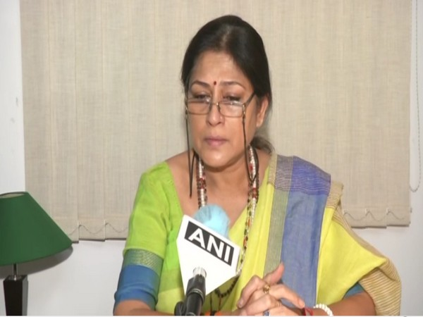 West Bengal BJP leader Roopa Ganguly (Photo/ANI)