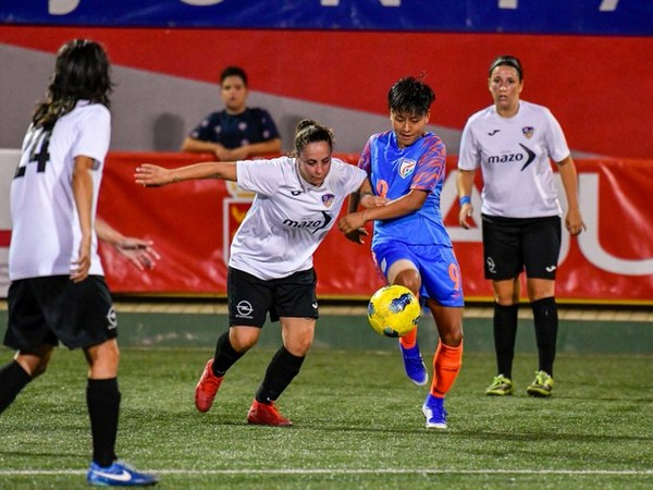 Indian women's football team in action (Photo/Indian Football Team Twitter)