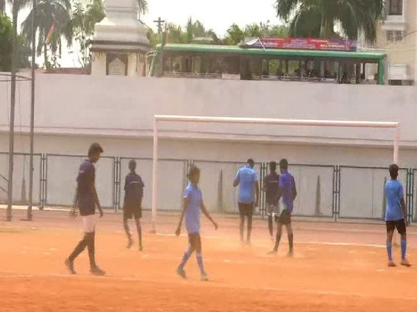 Gender equal football match at Trivandrum in Kerala on Saturday