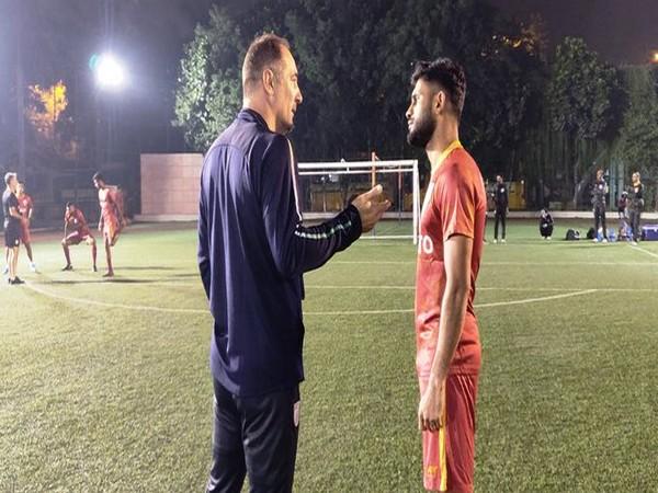 Igor Stimac with Anas Edathodika (Photo/Indian Football Team Twitter)