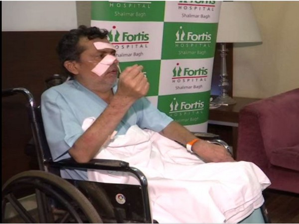 Sunil Dutt received a treatment for situs inversus at a hospital in New Delhi [Photo/ANI]